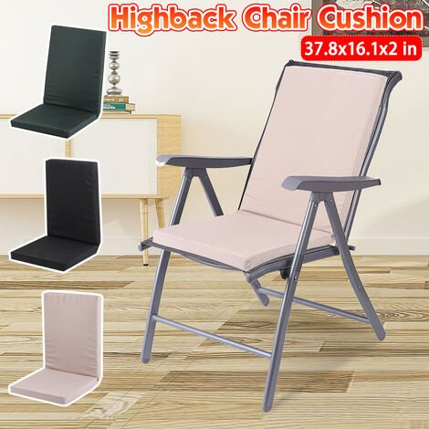 High Back Chair Cushion Removable Office Chair Cushion Cushion Removable Office Chair Cushion (Khaki)