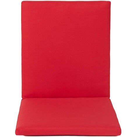 High Back Chair Cushion Seat Pad Removable Chair Cover