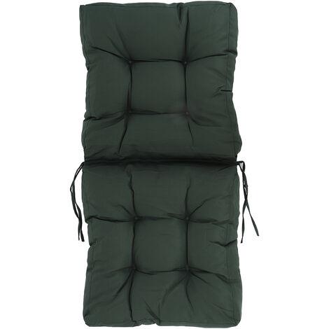 High Back Garden Chair Cushion Pad Breathable Seat Pad