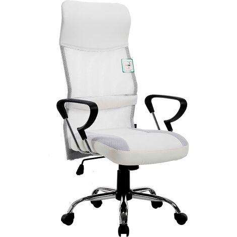 High Back Mesh Fabric Swivel Office Chair