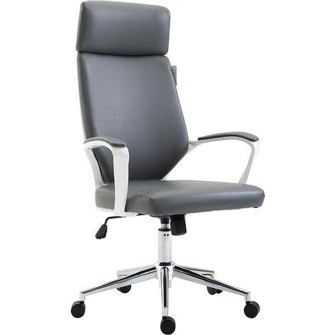 High Back Modern Design PU Leather Swivel Office Chair Computer Desk Chair