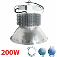 High Bay 200W LED Industrial Warehouse Ceiling Light 20200 Lumens - A+
