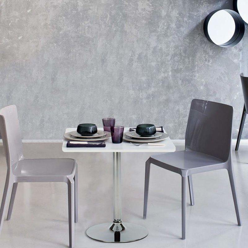 Tremendous High Coffee Bar Pub Table Round Square Central Leg Bistrot Inzonedesignstudio Interior Chair Design Inzonedesignstudiocom