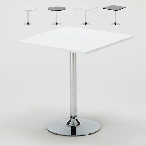 High Coffee Bar Pub Table Round Square Central Leg BISTROT