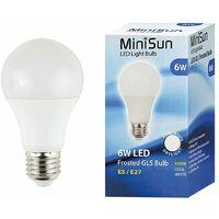 High Power 6w LED ES E27 SMD GLS Long Life Bulb