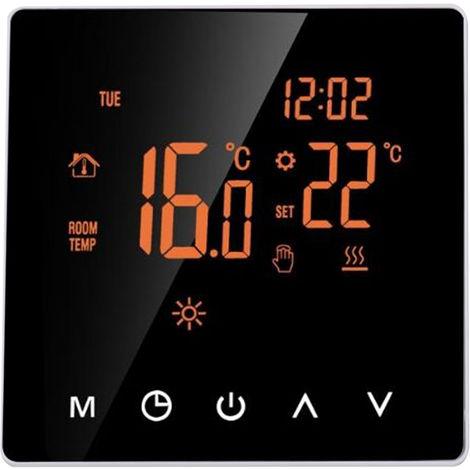 High-Power-Touch-Screen-Thermostat PC feuerhemmenden Materialien Wochenprogramm Thermostat Heizung mit WIFI