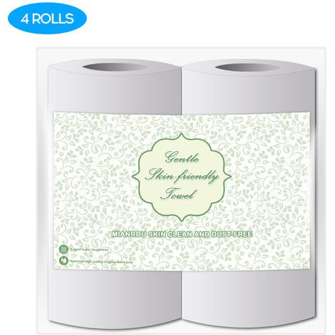 High Quality Log Household Rolls Thickened Roll Toilet Soft And Comfortable Paper Daily Necessities, 4rolls