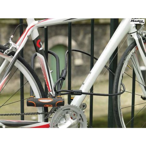 High Security U-Bars with cables