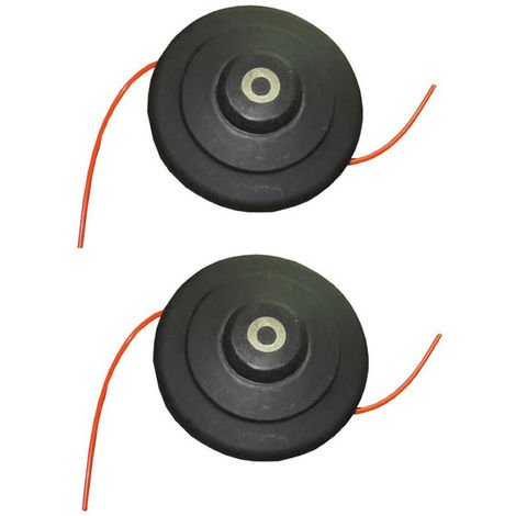 High Speed Nylon Replacement Trimmer Head Brush Cutter Tap and Go 5m Line x 2