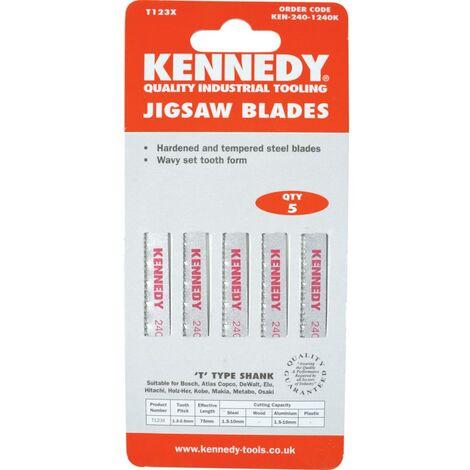High Speed Steel (HSS) Jigsaw Blades for Metals.