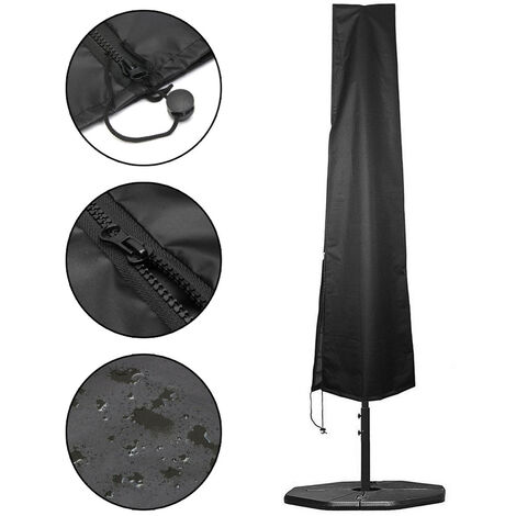 High waterproof foldable garden umbrella cover garden dust 91 inch protecting with a drawstring (umbrella not included) Mohoo