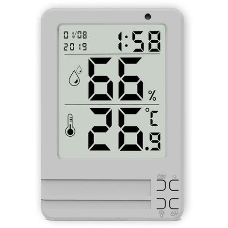 Higrometro digital, medidores de temperatura y humedad