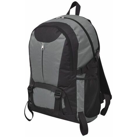 Hiking Backpack 40 L Black and Grey