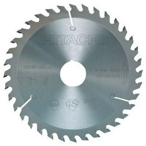 HIKOKI 752443 - scie circulaire disque et ingler 210x2.6x1.6mm tige 30 mm 60 dents pourle bois