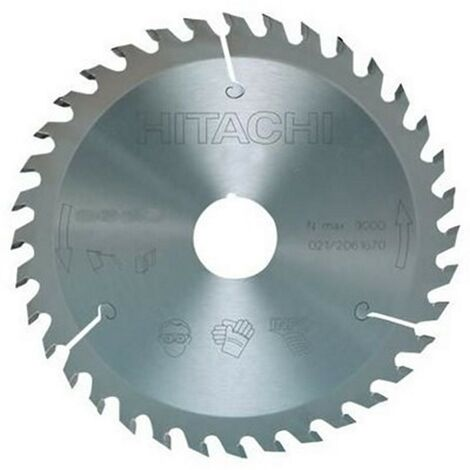 HIKOKI 752453 - scie circulaire disque et ingler 230x2.8x1.8mm tige 30 mm 60 dents pourle bois