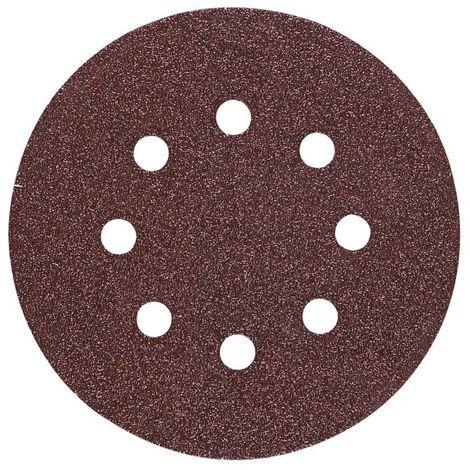 HIKOKI 753107 - Disco de Lija 125 mm grano 180 velcro