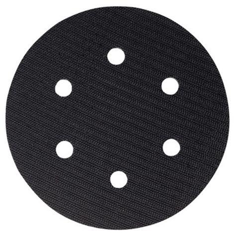 HIKOKI 753817 - Plato para disco de lija de Velcro 6 agujeros 150 mm
