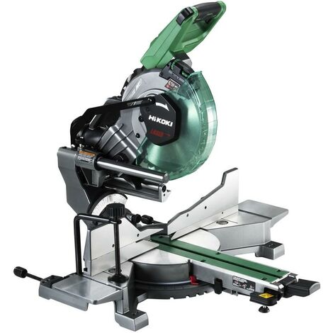 HiKOKI C3610DRA 36V MultiVolt Mitre Saw 254mm 2x8/4ah Li-ion Batteries