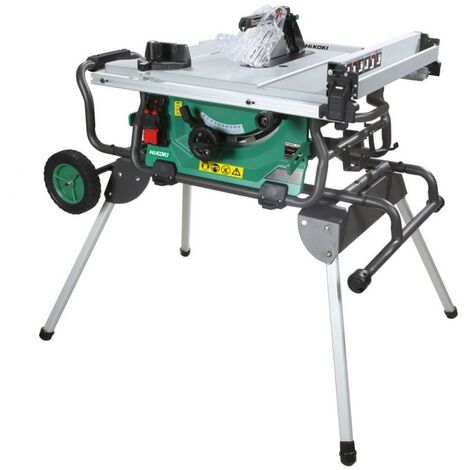HiKOKI C3610DRJ Cordless Table Saw Body Only With Stand