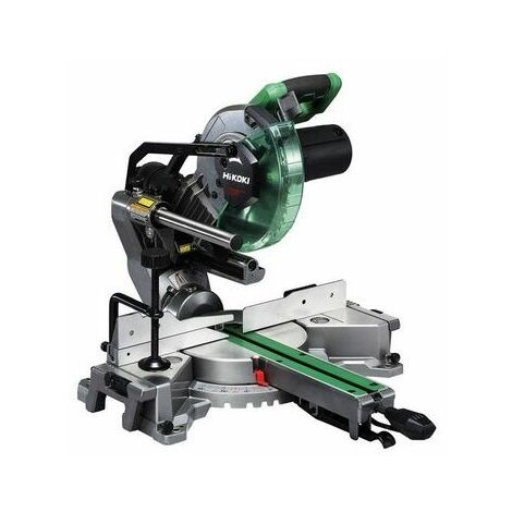 HiKOKI C8FSHGJ2Z Slide Compound Mitre Saw 216mm 1100W 110V