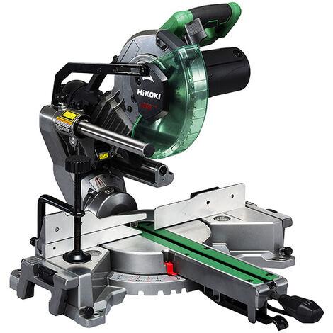 HiKOKI C8FSHGWAZ - Scie à onglet radiale avec laser - 1100W - 216 x 30mm