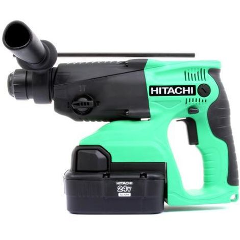 Hikoki DH24DVC 24V SDS+ DRILL with 2Ah Batteries