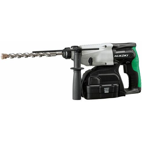 HiKOKI DH24DVC SDS Plus Hammer Drill 3-Mode 24V 2 x 2.0Ah NiMH