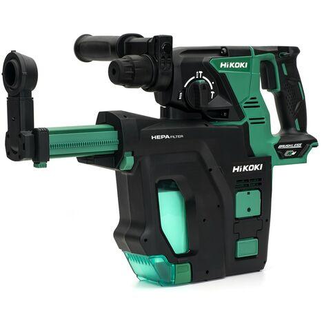 HiKOKI DH36DPB/J3Z MultiVolt Cordless Rotary Hammer Drill 18-36V - Bare Unit (With Dust Collector) - DH36DPB/J3Z