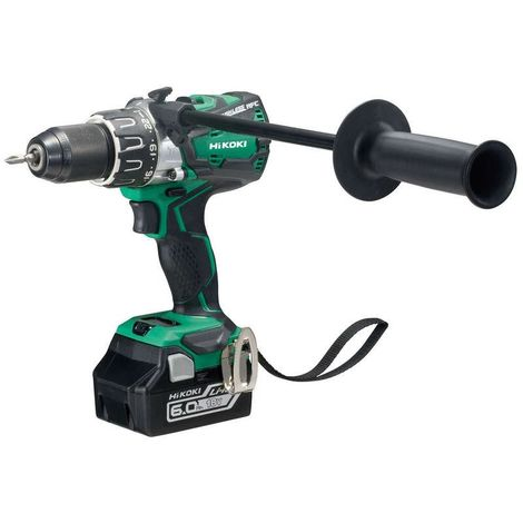 HiKOKI DV18DBXL 18V Brushless Combi Drill & 2x6.0Ah Li-Ion Batteries