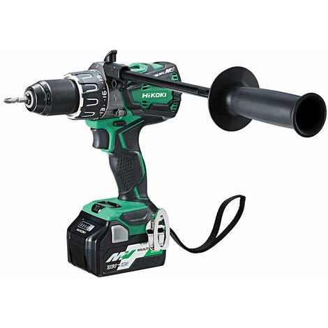 HiKOKI DV36DAX/JRZ Brushless Combi Drill 18/36V 2 x 5.0/2.5Ah Li-ion