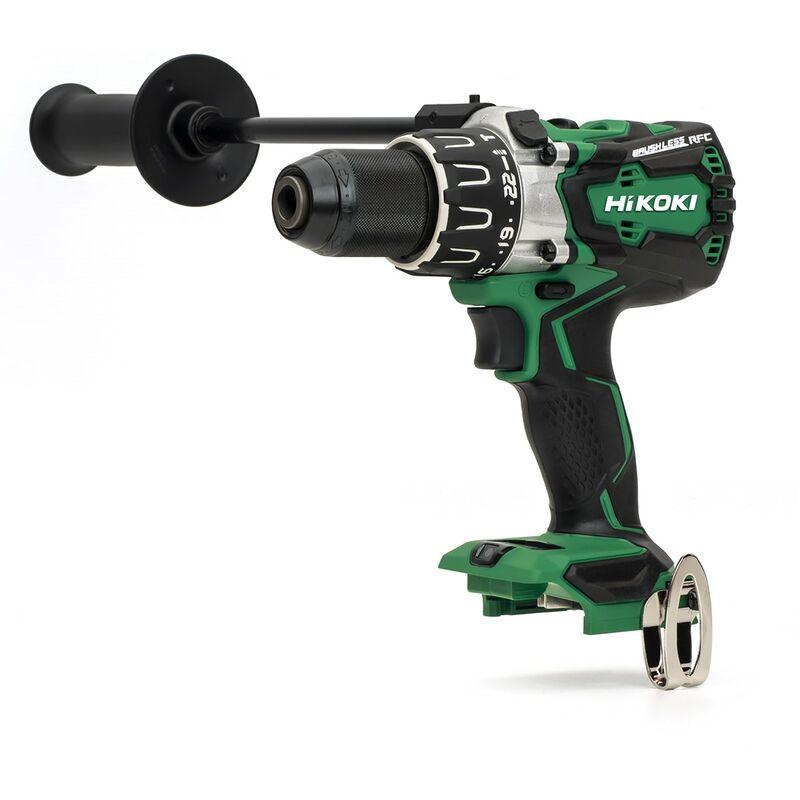 Image of Hikoki/hitachi Power Tools Uk - HiKOKI / Hitachi DV18DBXL Combi Drill 18V Cordless Brushless - Bare Unit - DV18DBXL