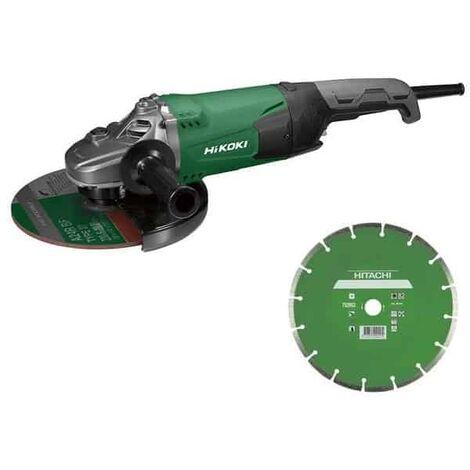 HIKOKI Meuleuse filaire 230mm 2200W - G23SW2W7Z