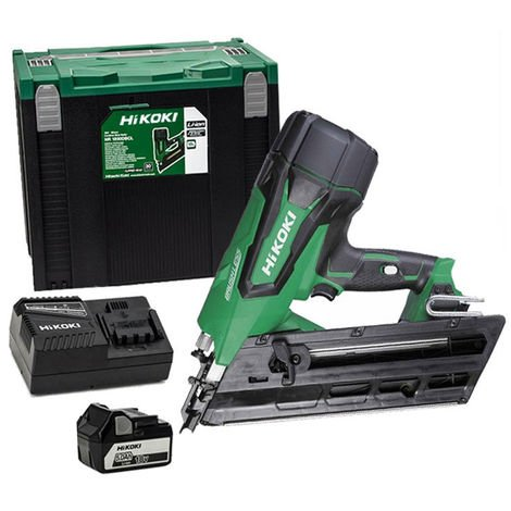 HiKOKI NR1890DC Framing Nailer 18V Brushless With 1 x 5.0Ah Battery Charger:18V