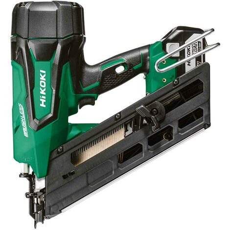 HiKOKI NR1890DCJPZ 18V 90mm Clipped Head Nailer 2x5.0Ah Batts