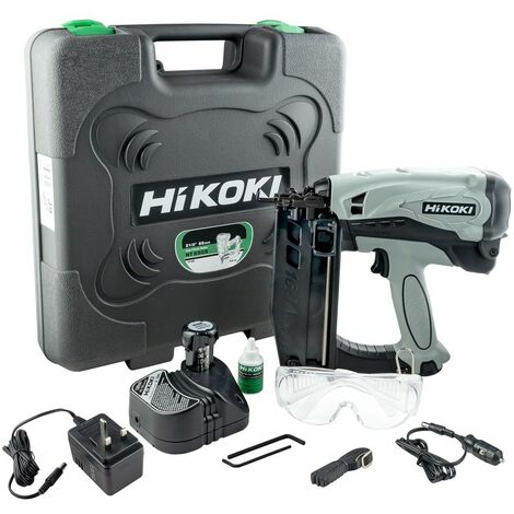 HiKOKI NT65GS Cordless Gas Finish Nailer Brad Nailgun HITNT65GS - SP