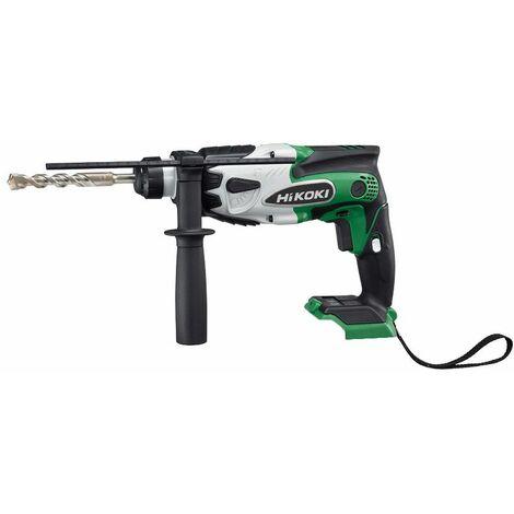 HiKOKI Perforateur sans fil, 18V DH18DSL, sans batterie, sans chargeur, (HSC II) - DH18DSLL2Z