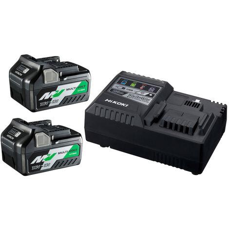 HiKOKI UC18YSL3WEZ BoosterPack Multi-Volt - (2 x 5Ah)18V - 2,5Ah 36V - chargeur UC18YSL3