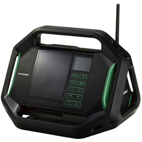 HiKOKI UR18DSALW4Z Radio numérique sur accu - 14,4 - 18 V - 2 x 7 W - 76,4 dB