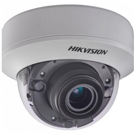 """main image of """"Hikvision - DS-2CE5AH0T-VPIT3ZF - Caméra dôme extérieur varifocale 5MP IR 40 m - Blanc"""""""