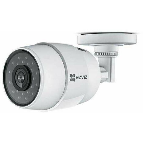Hikvision Ezviz C3C CS-CV216-A0-31WFR Network IP-Caméra bullet extérieure Wi-fi hd 720p 1mpx poe slot sd p2p