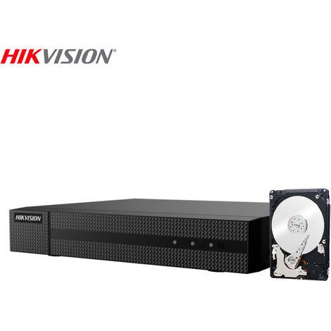 "main image of ""HIKVISION HWD-5104M DVR 5IN1 AHD CVI TVI CVBS IP 4 CH CANALI UTC 2 MPX 500 GB"""