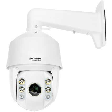 Hikvision - HWP-T5225I-A - Caméra dôme PTZ HDTVI 2MP avec Infrarouge 150m - Blanc