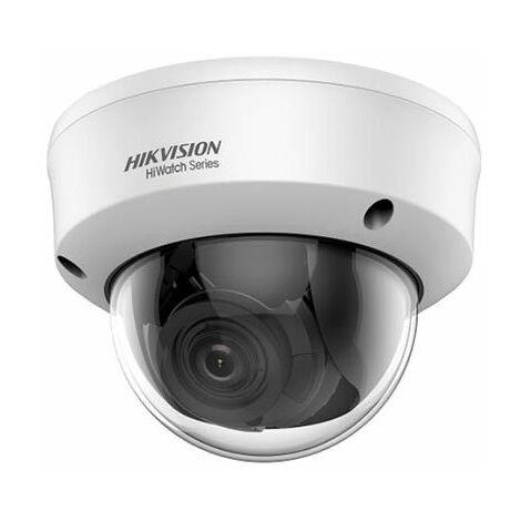 Hikvision HWT-D340-VF Hiwatch series Caméra dôme anti-vandalisme 4in1 TVI/AHD/CVI/CVBS hd 2k 1440p 4Mpx 2.8~12mm osd IP66