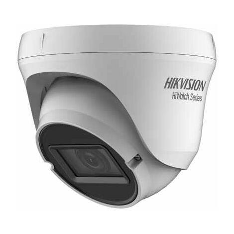 Hikvision HWT-T310-VF Hiwatch series Caméra dôme 4in1 TVI/AHD/CVI/CVBS hd 720p 1Mpx 2.8~12mm osd IP66