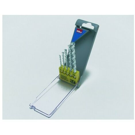 Hilka 49800005 Masonry Drill Bit Set of 5