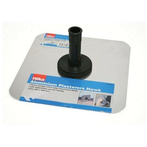 """Hilka 66303000 Aluminium Plasterers Hawk 12"""" x 12"""" (300mm x 300mm)"""