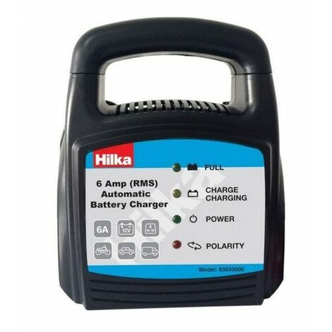 Hilka 83650006 6 Amp Automatic Battery Charger