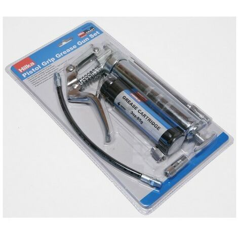 Hilka 84800120 Manual Grease Gun Set