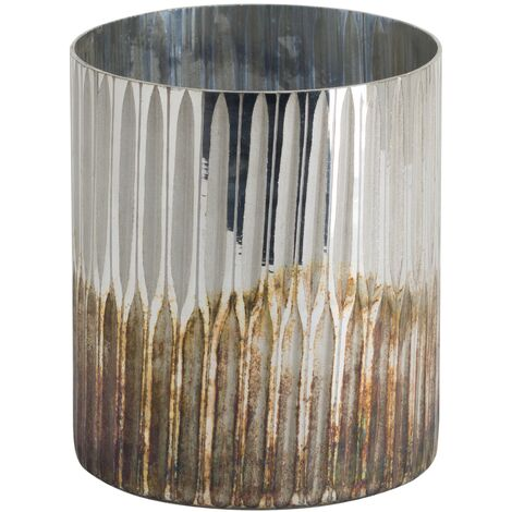 Hill Interiors Large Ombre Candle Holder (One Size) (Bronze)