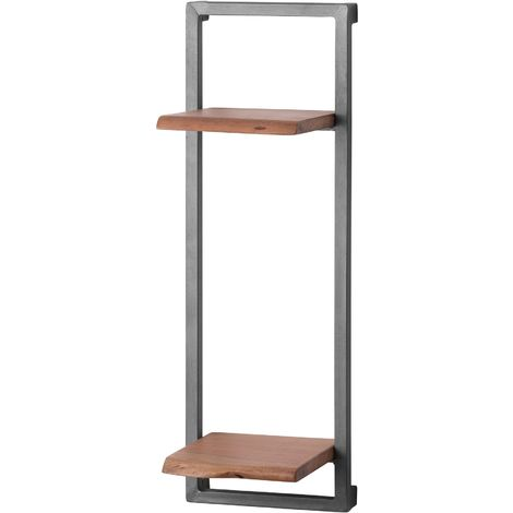 Hill Interiors Live Edge Collection Tall Twin Shelf (One Size) (Brown)